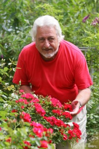 David Bellamy raids the gardens at Sylvan Hall